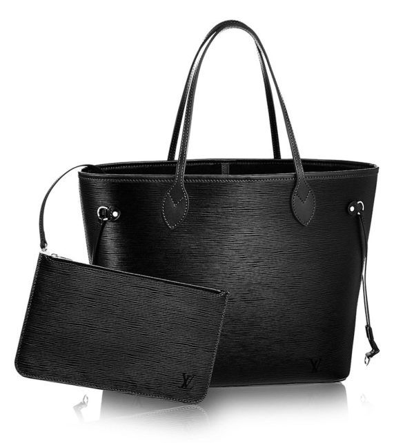 5 of the best black tote bags Travel bags for Women Louis Vuitton never full large