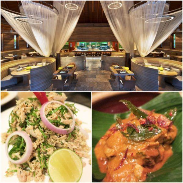 w maldives starwood spg luxury hotel kitchen restaurant dinner maldivian curry half board