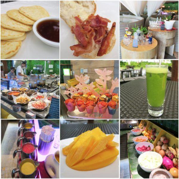 w maldives starwood spg luxury hotel kitchen restautant breakfast options half board