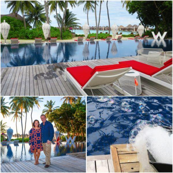 w maldives starwood spg luxury hotel pool party DJ