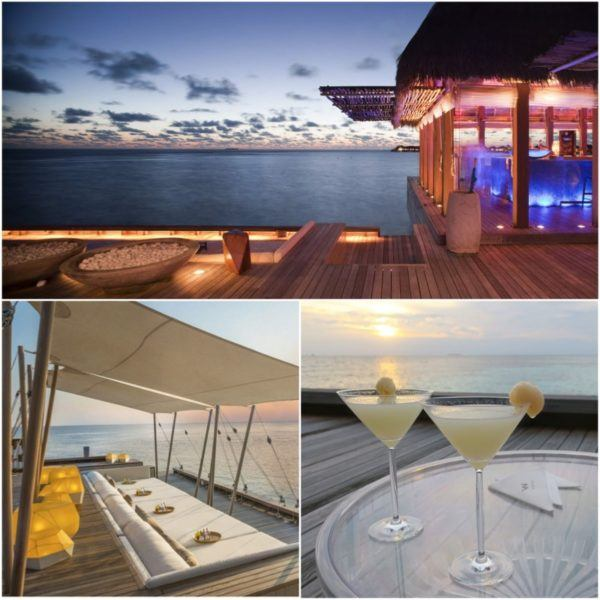 w maldives starwood spg luxury hotel sip sunset bar and cocktails