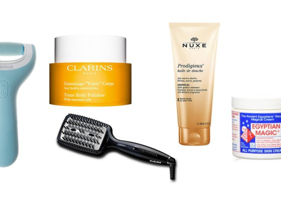 new top 5 beauty essentials for spring 2017 nuxe scholl clarins babyliss egyptian magic
