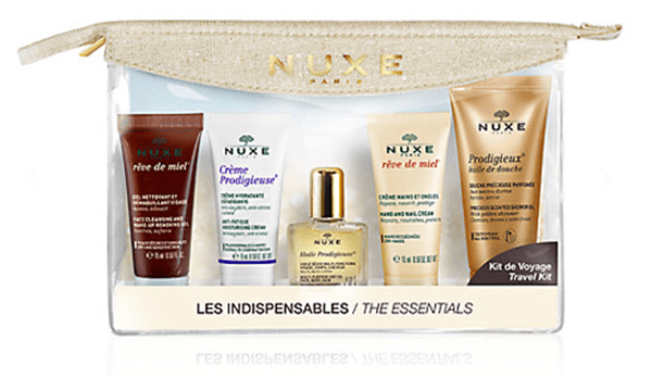nuxe the essentials travel kit top 5 spring beauty essentials