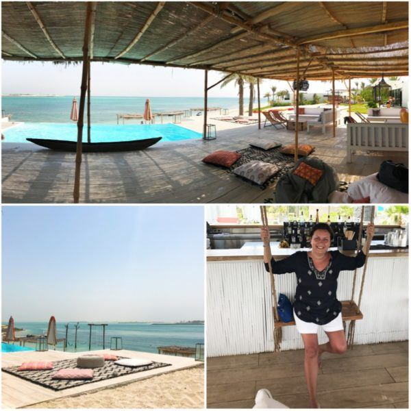 private island abu dhabi zaya nurai day trip ana pineapple pool bar