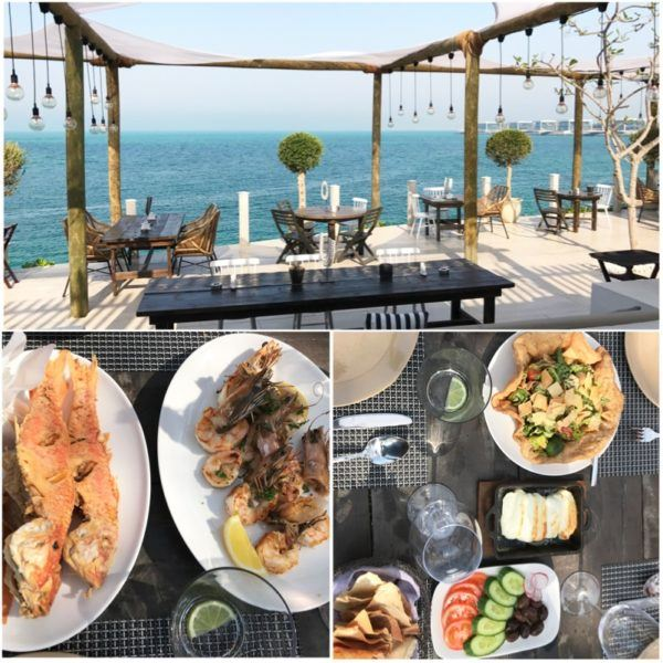 private island abu dhabi zaya nurai day trip hooked fish restaurant