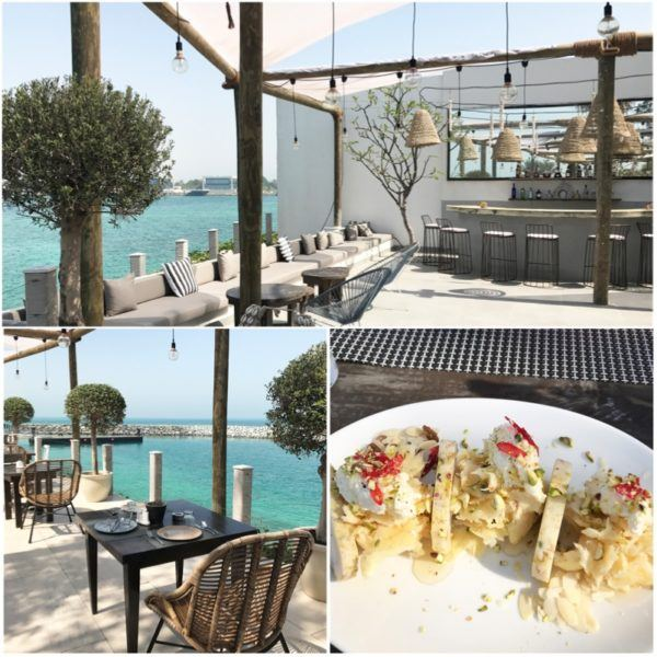 private island abu dhabi zaya nurai day trip hooked fish restaurant and bar