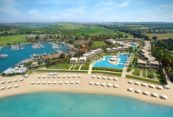 sani dunes halkidiki greece luxury hotel