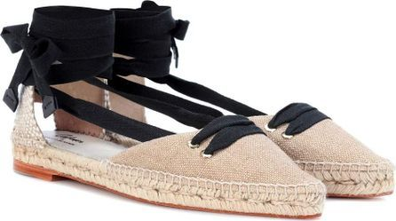 castaner manolo blahnik beige flat espadrille top 10 designer espadrilles for your next holiday shoe essentials packing list