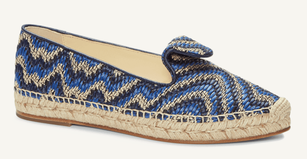 sarah flint andrea blue flat espadrille top 10 designer espadrilles for your next holiday shoe essentials packing list