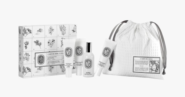 beauty travel set travel size beauty products Diptyque L'Art Du Soin Face & Body Travel Set