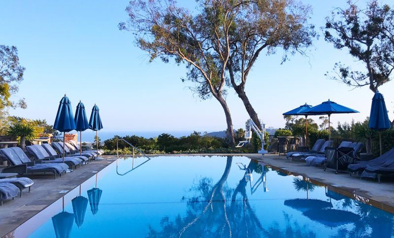 belmond el encanto luxury hotel santa barbara california pool view cover
