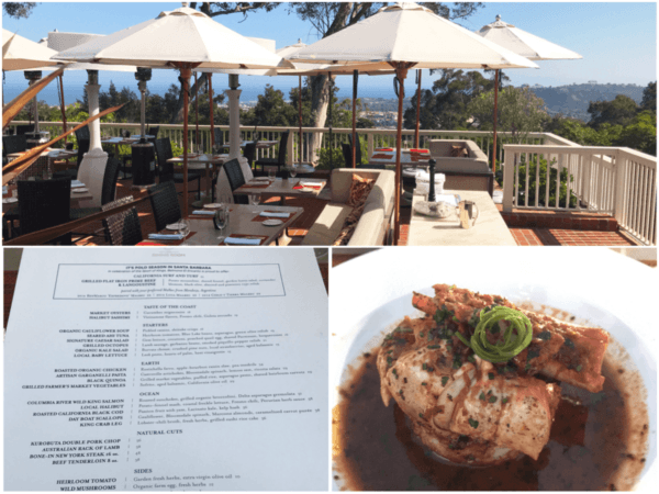 belmond el encanto santa barbara california luxury hotel dinner restaurant