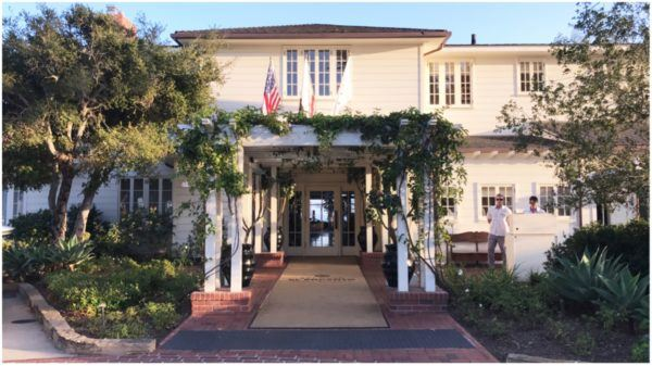 belmond el encanto santa barbara california luxury hotel entrance 1