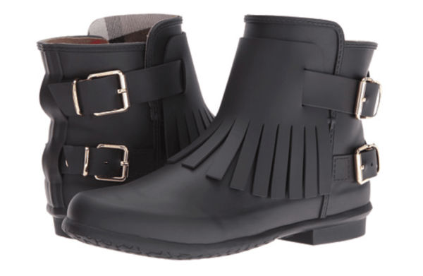 Burberry House Check Fringed Rubber rain Boots top 5 boots for winter rain and snow edition