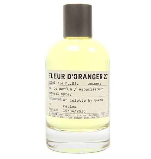 le labo fleur doranger 27 top 5 perfumes for spring