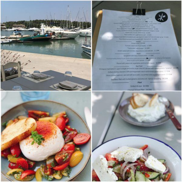 sani dunes luxury beach hotel resort halkidiki greece sovereign luxury travel lunch greek salad sani marina
