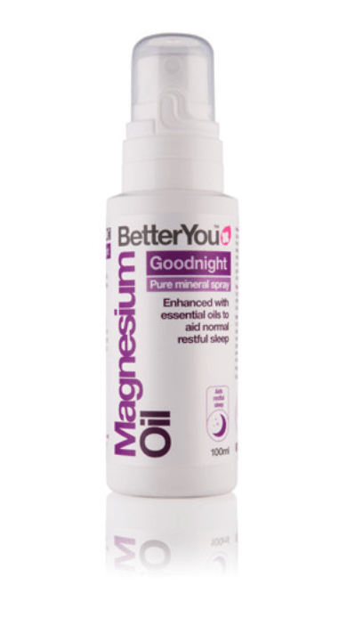 how to sleep better better you goodnight magnesium oil