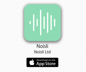 how to sleep better noisly app