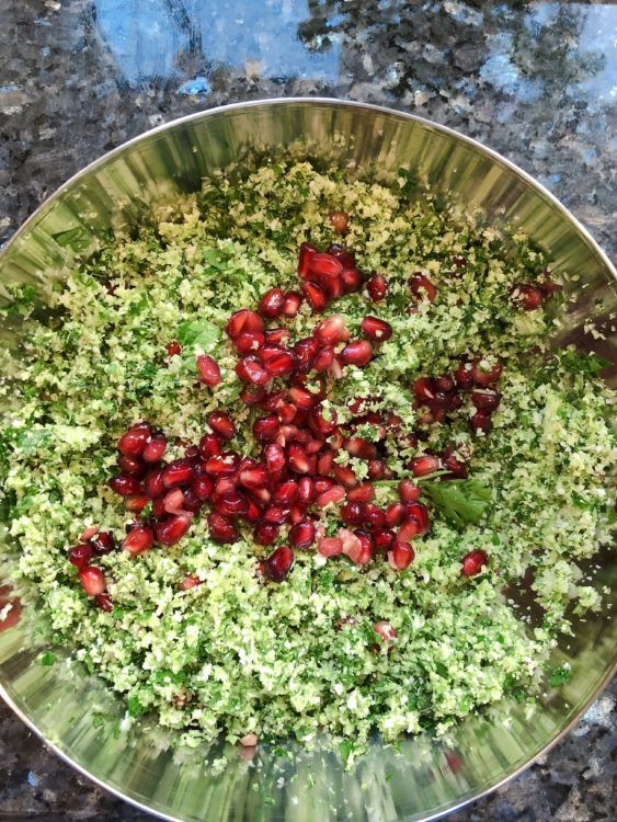 mrs o at home barbeque side dishes salads tabbouleh 8