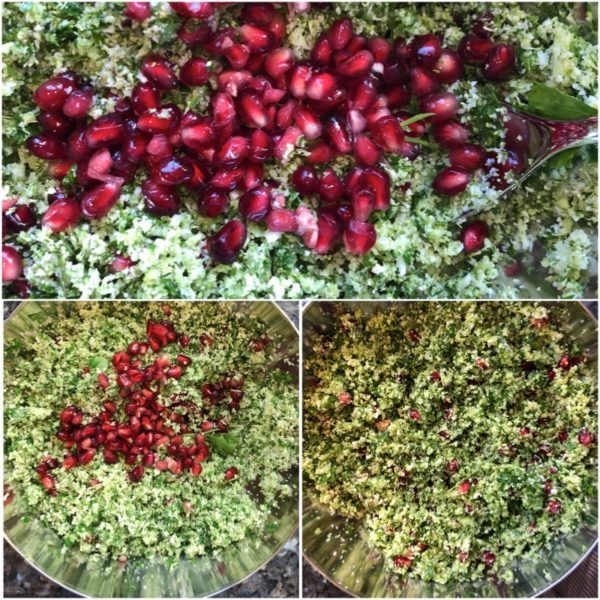mrs o at home barbeque side dishes salads tabbouleh prep