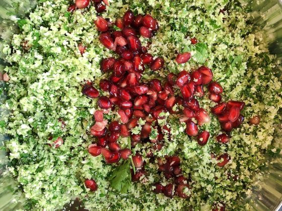 mrs o at home barbeque side dishes salads tabbouleh recipe cover