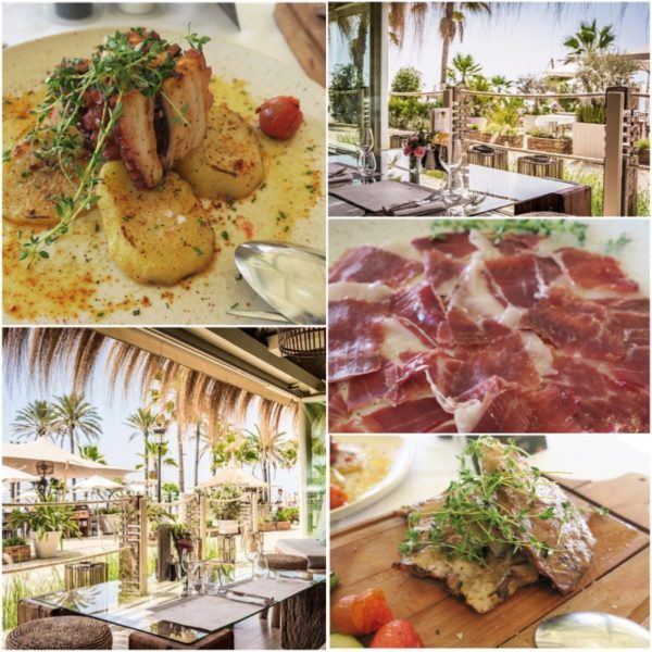 puente romano marbella luxury hotel review leading hotel of the world spain sovereign luxury travel beach chiringuito restaurant lunch