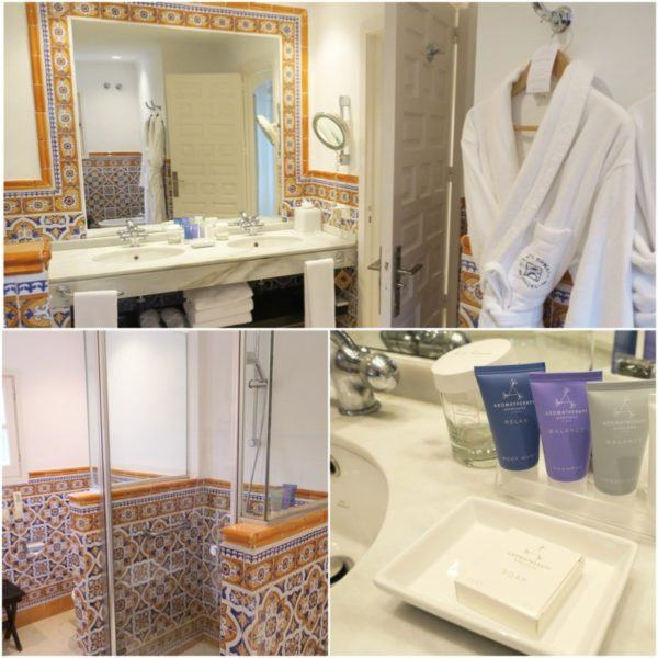 puente romano marbella luxury hotel review leading hotel of the world spain sovereign luxury travel junior suite bathroom aromatherapy associates