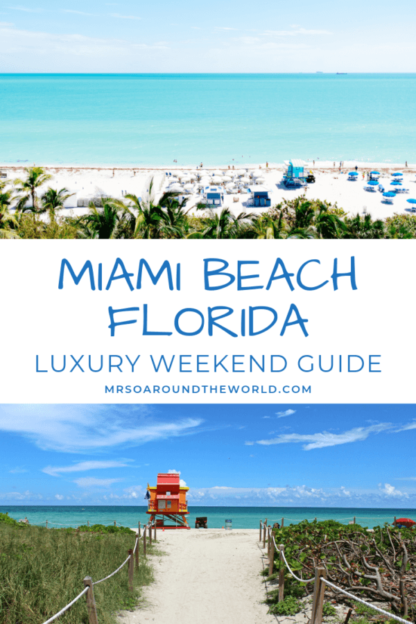 Miami Beach Florida holiday Luxury Guide best hotels