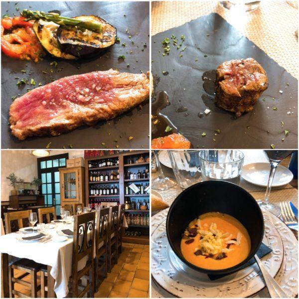 las bellotas restaurante jabugo jamon iberico cinco jotas