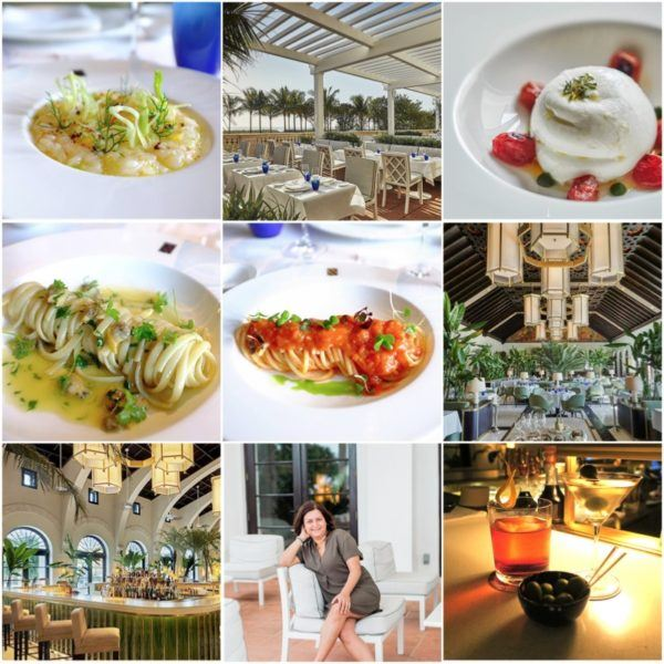luxury travel miami florida weekend four seasons surfside luxury hotel flytographer surf club la sireneuse italian restaurant amalfi coast