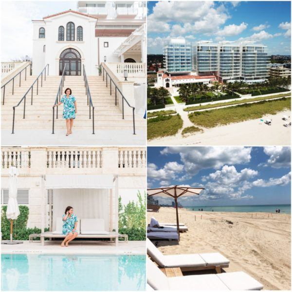 luxury travel miami florida weekend four seasons surfside luxury hotel flytographer surf club pool and beach club