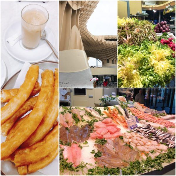 luxury weekend in seville with days out to jerez and jabugo andalucia spain hotel hospes luxury hotel metropol parasol churros la centuria mercado market