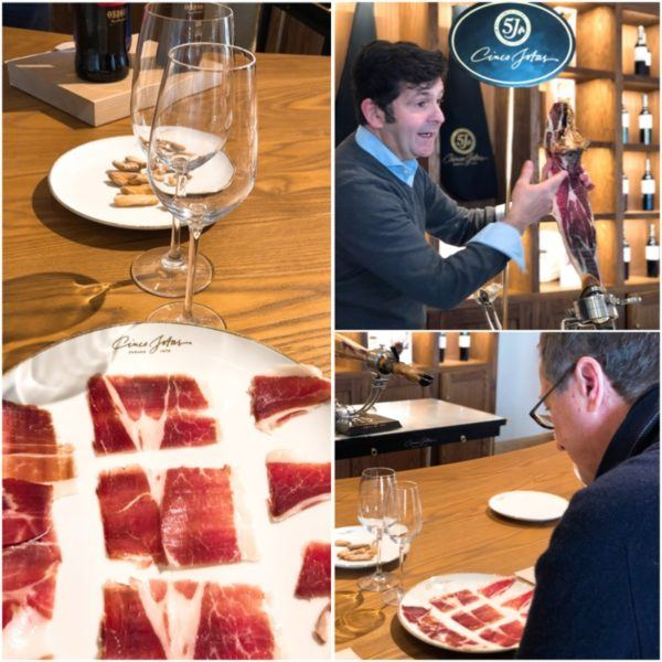 luxury weekend in seville with days out to jerez and jabugo cinco jotas best iberico ham visit jamon iberico de bellota visita y prueba de jamon iberico tasting