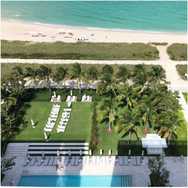 miami florida luxury hotel review four seasons hotel at the surf club surfside beach and pool