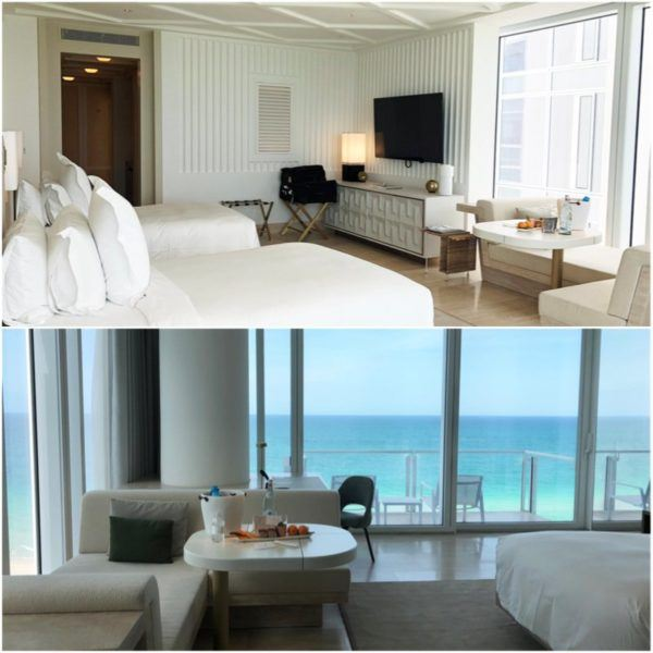 miami florida luxury hotel review four seasons hotel at the surf club surfside oceanfront twin room 2