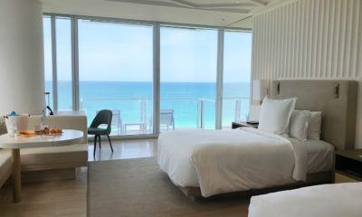 miami florida luxury hotel review four seasons hotel at the surf club surfside oceanfront twin room COVER