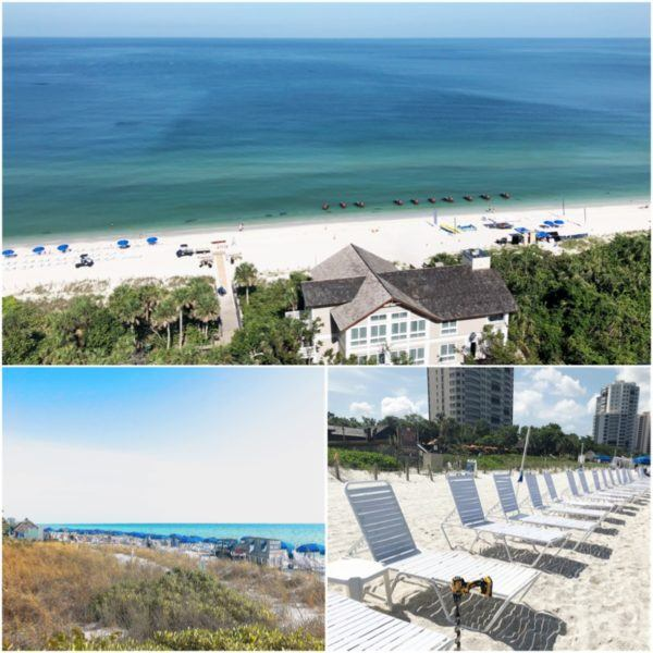luxury weekend in naples florida ritz carlton beach view 2