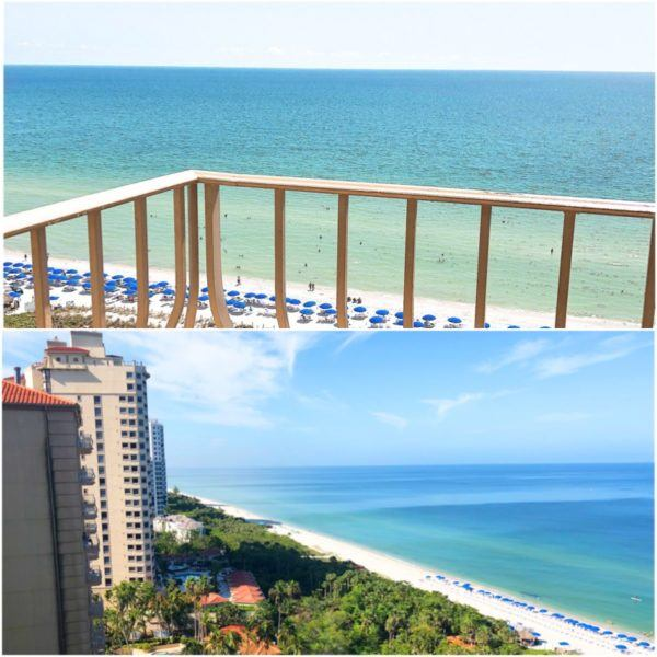 luxury weekend in naples florida ritz carlton beach view 3