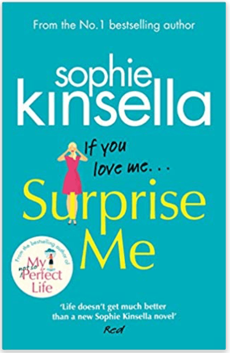 sophie kinsella surprise me beach reads