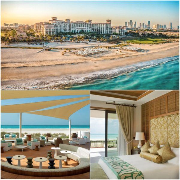 luxury hotels in the uae not in dubai st regis abu dhabi saadiyat island resort
