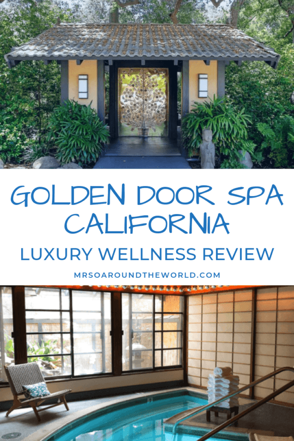The Golden Door Spa California