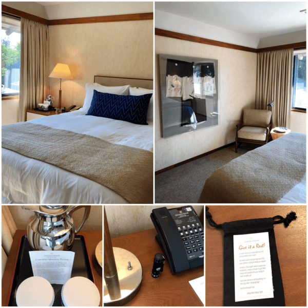 golden door luxury destination spa retreat between san diego and los angeles fitness weight loss wellness mindfullness bedroom details
