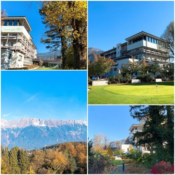 Park Igls detox medical spa austria innsbruck mayr cure diet setting hotel exterior