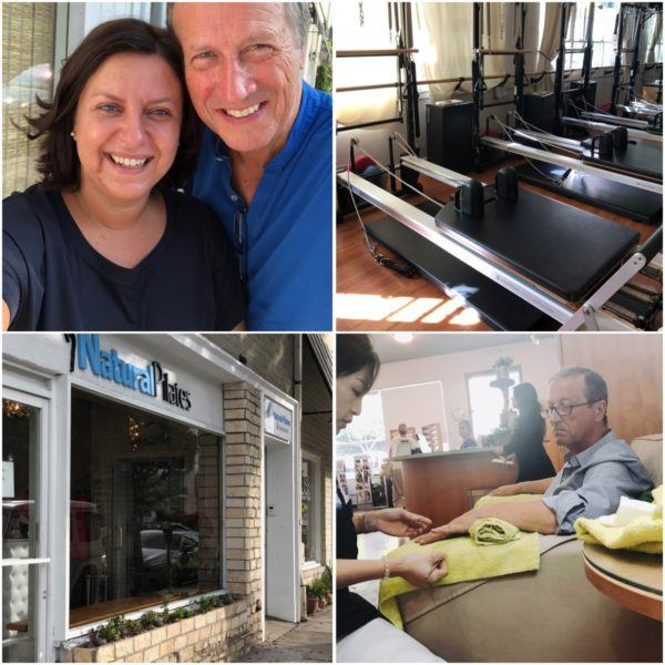california road trip luxury travel beverly hills best reformer pilates studio mindbody natural pilates and bellacure manicure
