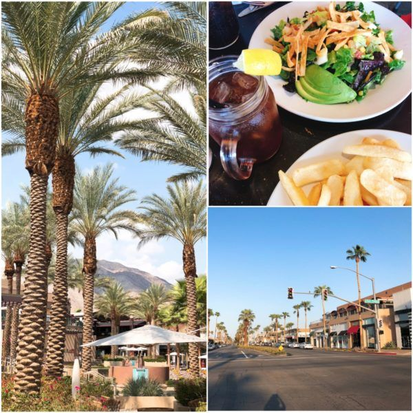 california road trip luxury travel palm springs palm desert el paseo luxury shopping saks wilma frieda lunch saks