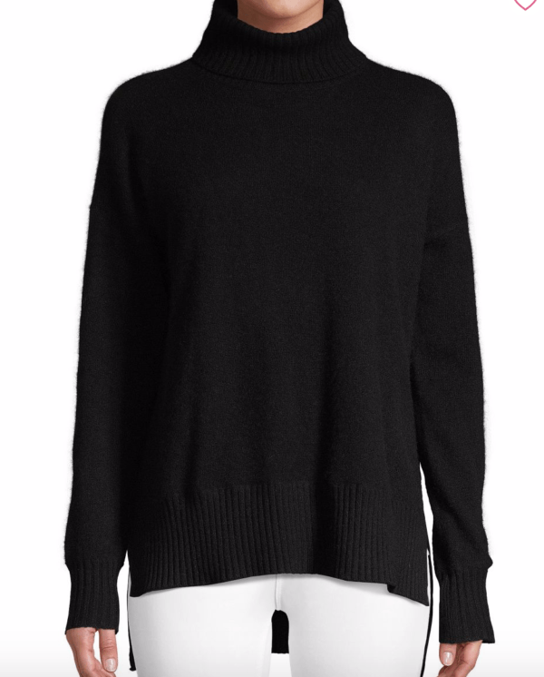 cashmere jumper saks clothes to take on ski holiday