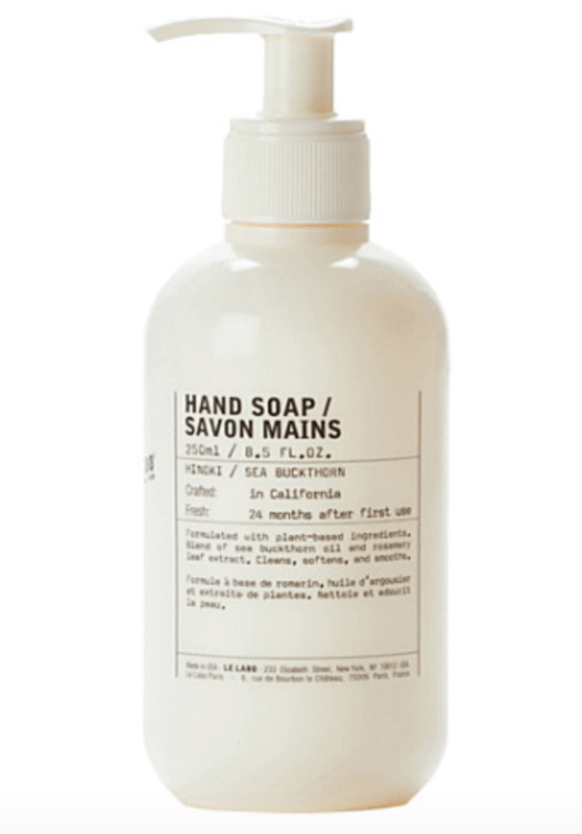 le labo sea buckthorn luxury handwash winter beauty essentials