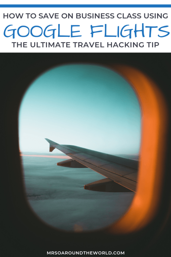 Business Class Tickets with Google Flights 1