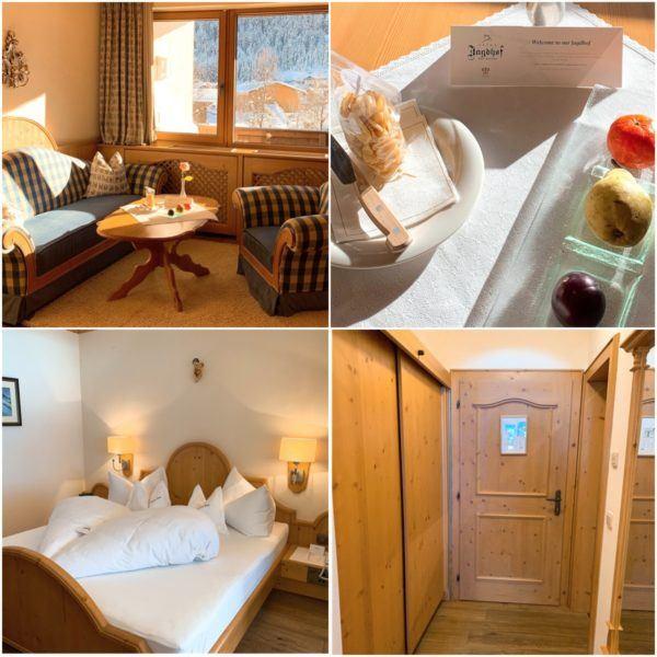 Jagdhof Luxury Ski Hotel Relais Chateau Neustift im Stubaital 30 minutes Stubaier Gletscher ski area innsbruck bedroom 2