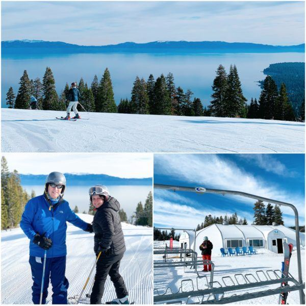 skiing in california luxury travel road trip north lake tahoe homewood mountain views of lake tahoe